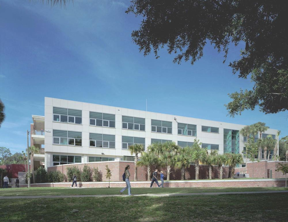 Front Foyer University : Rinker hall at the university of florida aia top ten