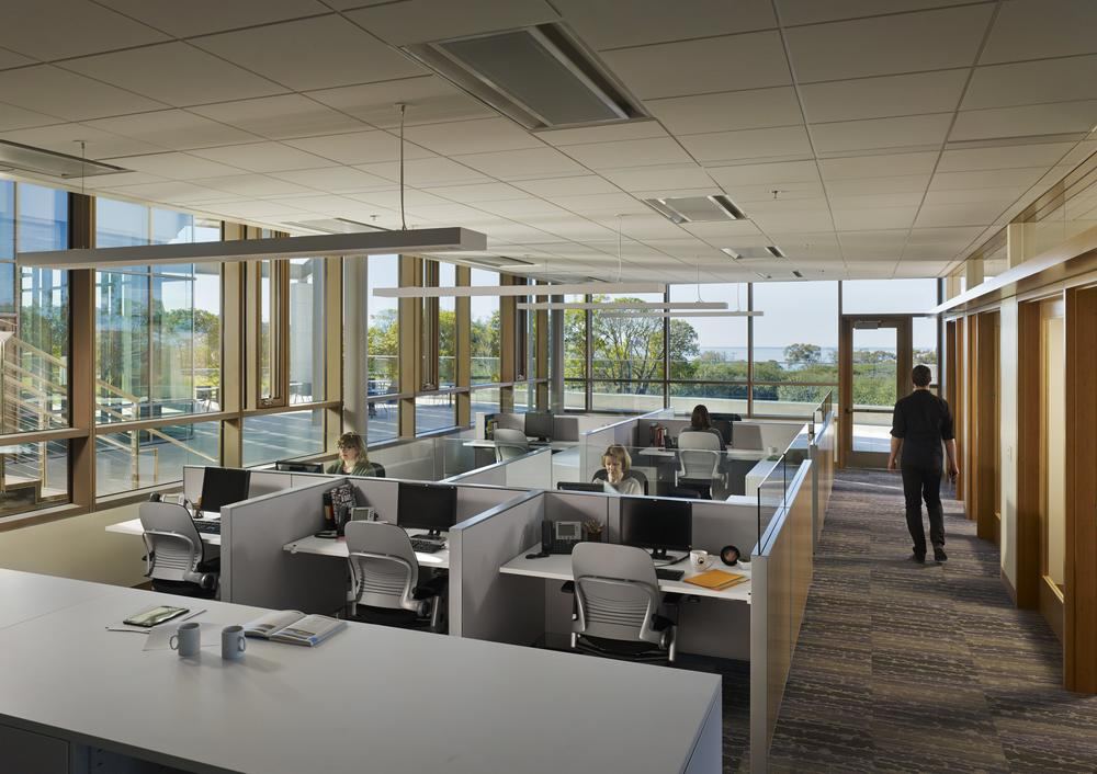J craig venter institute aia top ten for Office design research