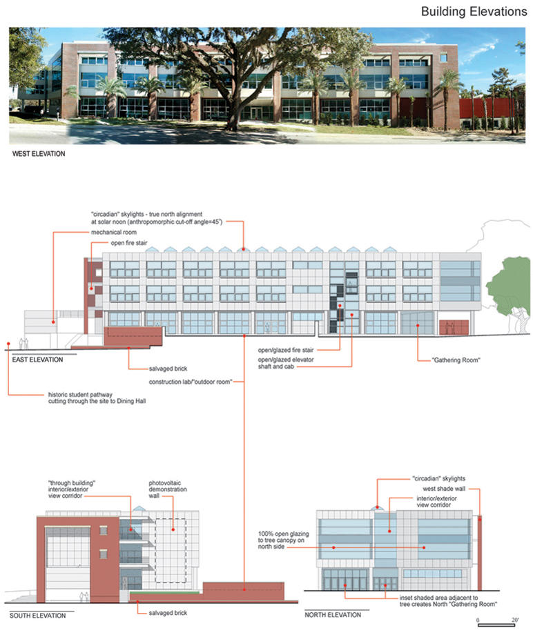 Rinker Hall At The University Of Florida AIA Top Ten - Elevation here