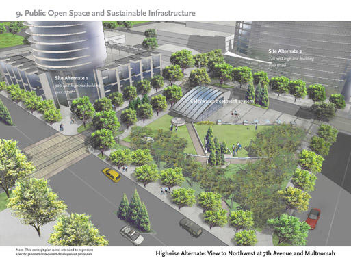 Lloyd Crossing Sustainable Design Plan