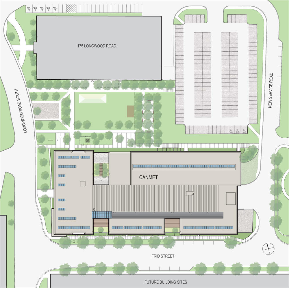 CANMET Materials Technology Laboratory – Site Plans Are Developed Using An