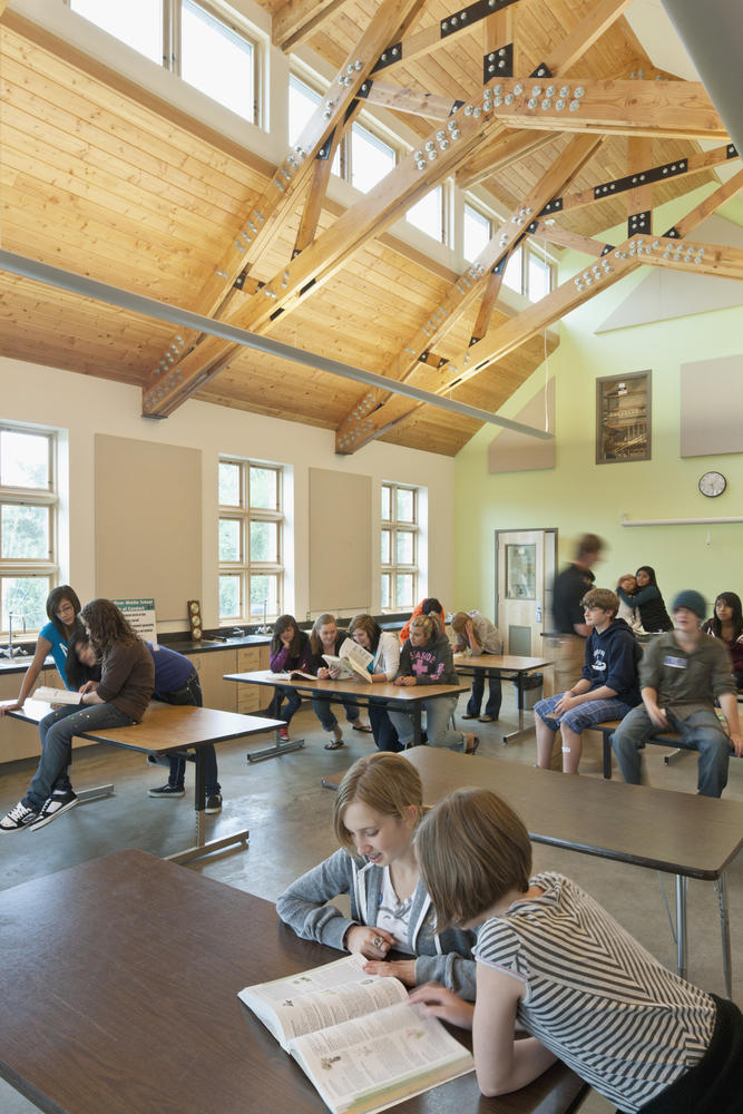 Innovative Classroom Lighting : Music and science building aia top ten