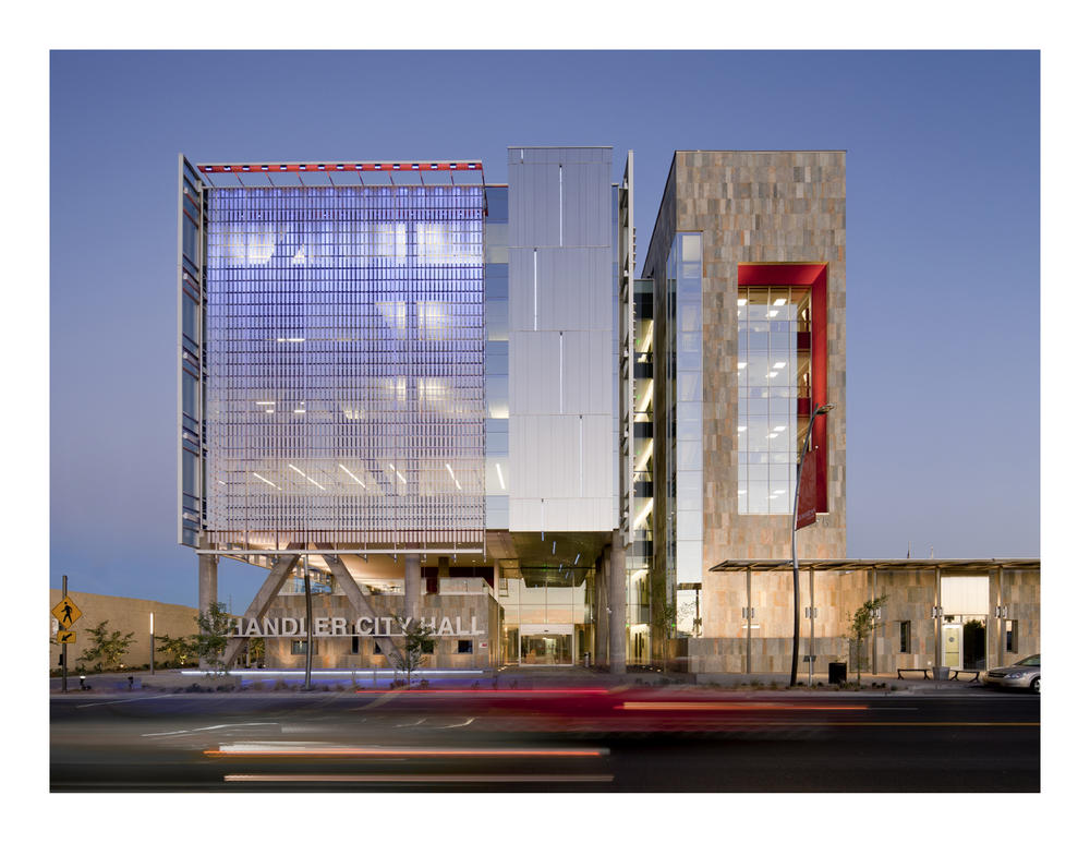 Chandler City Hall Archdaily