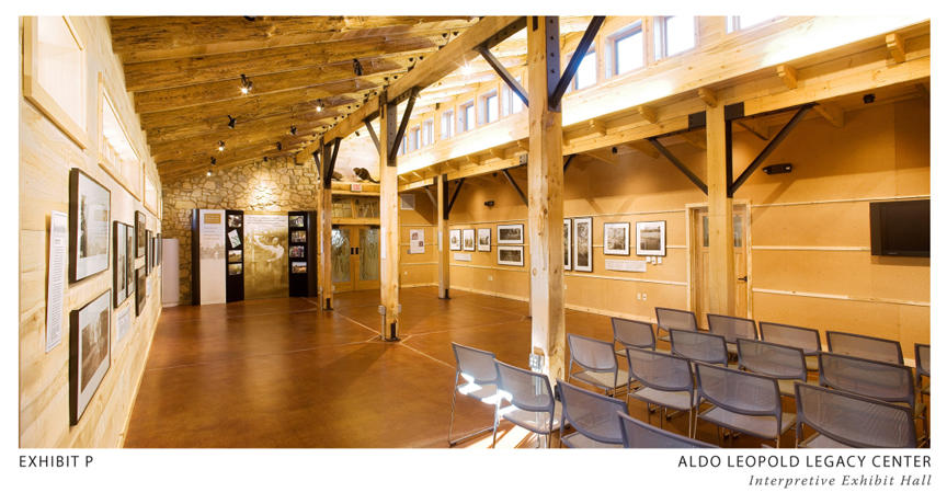 Aldo leopold legacy center aia top ten for Clerestory roof truss design
