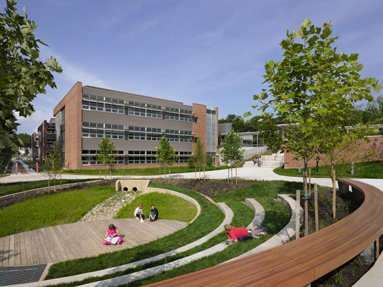 Outdoor Classroom Design Elementary School ~ Manassas park elementary school pre k aia top ten