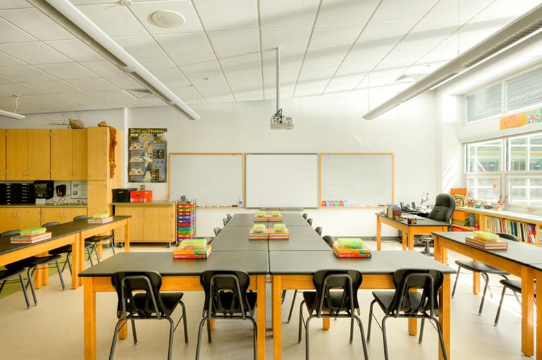 Innovative Elementary Classroom Furniture ~ Manassas park elementary school pre k aia top ten