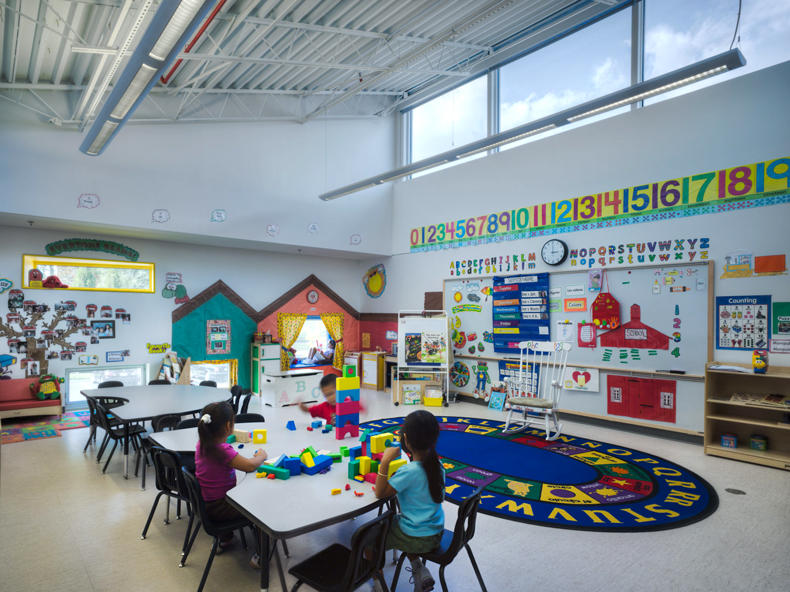Classroom Window Design ~ Manassas park elementary school pre k aia top ten