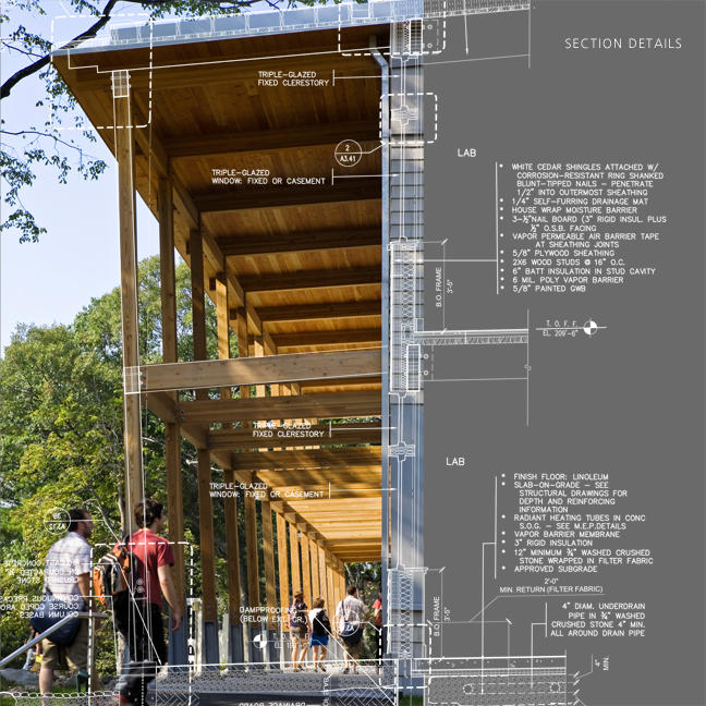 Garthwaite center for science art aia top ten - Steel structure house plans a world in motion ...