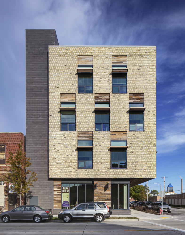 Clock shadow building aia top ten for Small building design