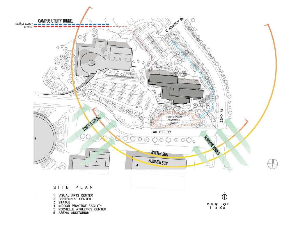 University Of Wyoming Visual Arts Facility Aia Top Ten