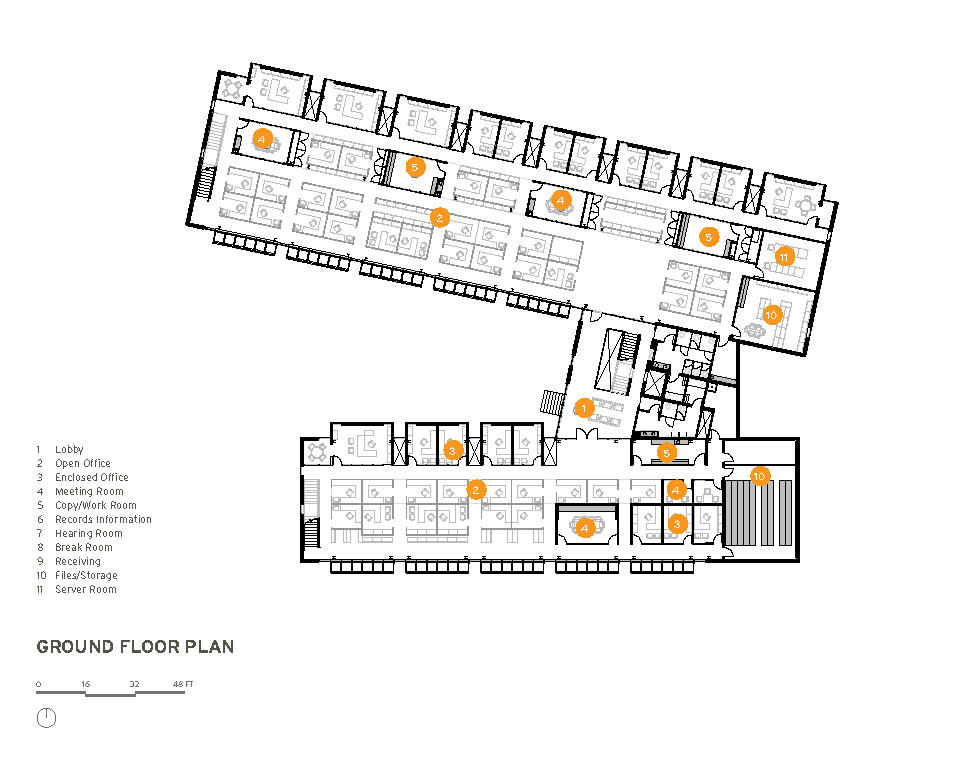Iowa utilities board office of consumer advocate office Office building floor plan layout