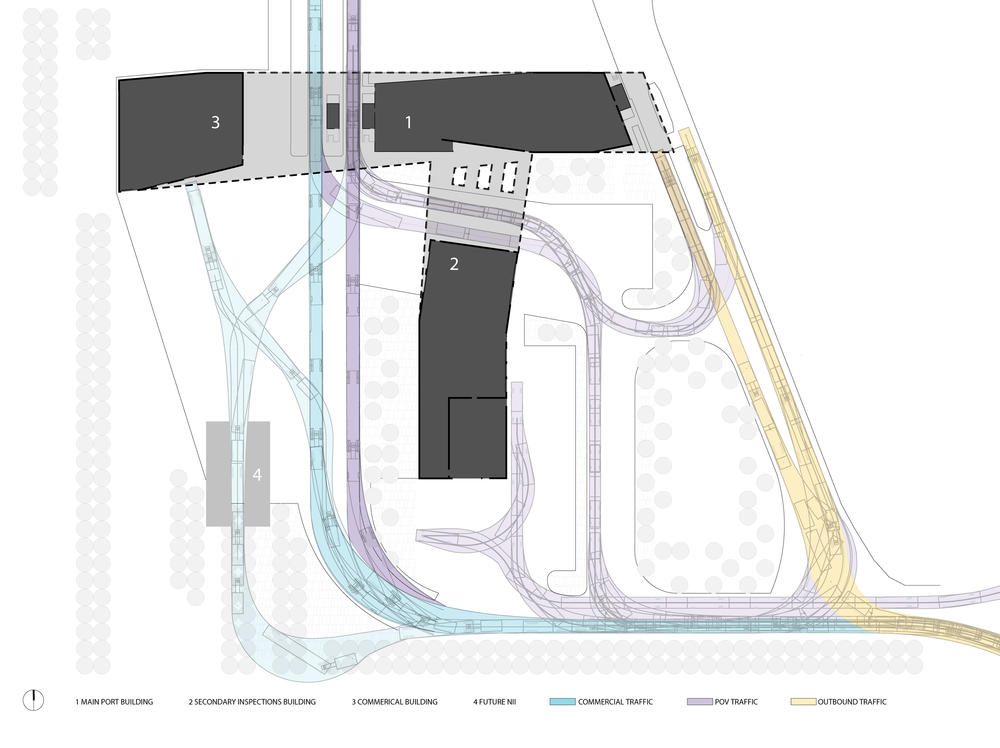 Us Land Port Of Entry Aia Top Ten - Us-ports-of-entry-map